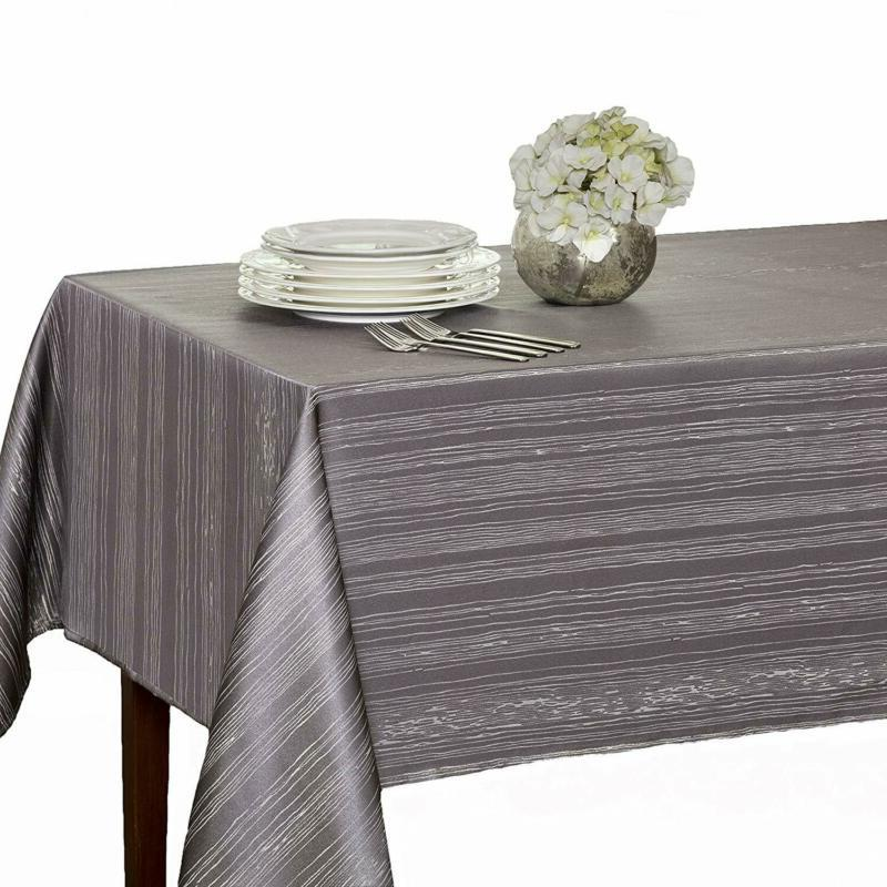 mills tablecloth flow heavy weight spillproof fabric