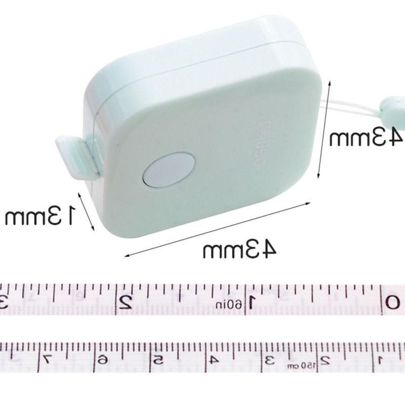Mini 150CM Retractable Ruler Sewing Cloth