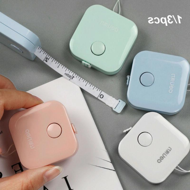mini portable 60inch 150cm retractable ruler tape