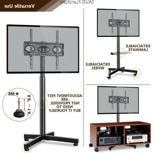 Mobile with Wheels for inch Flat Screen Curved