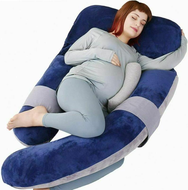 moon pine 60 inch pregnancy pillow detachable