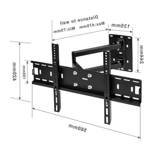Full Motion TILT & SWIVEL LED LCD TV Wall Mount Bracket 32 4