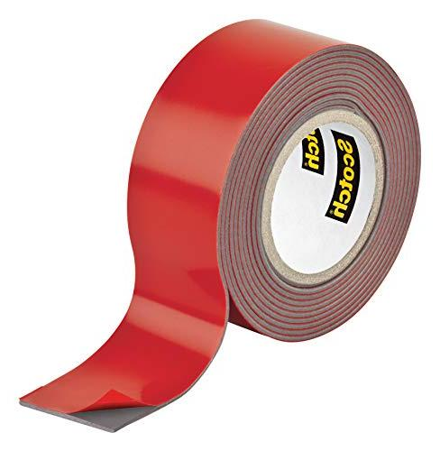 Scotch Mounting Tape, 1-inch 1-Roll
