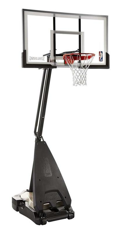 Spalding Nba Portable Basketball System Acrylic Backboard