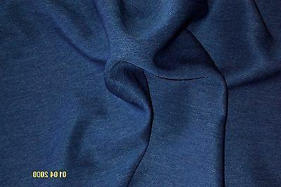 NEW, the yard, Cadet Blue Twill Cloth, 60 Inches