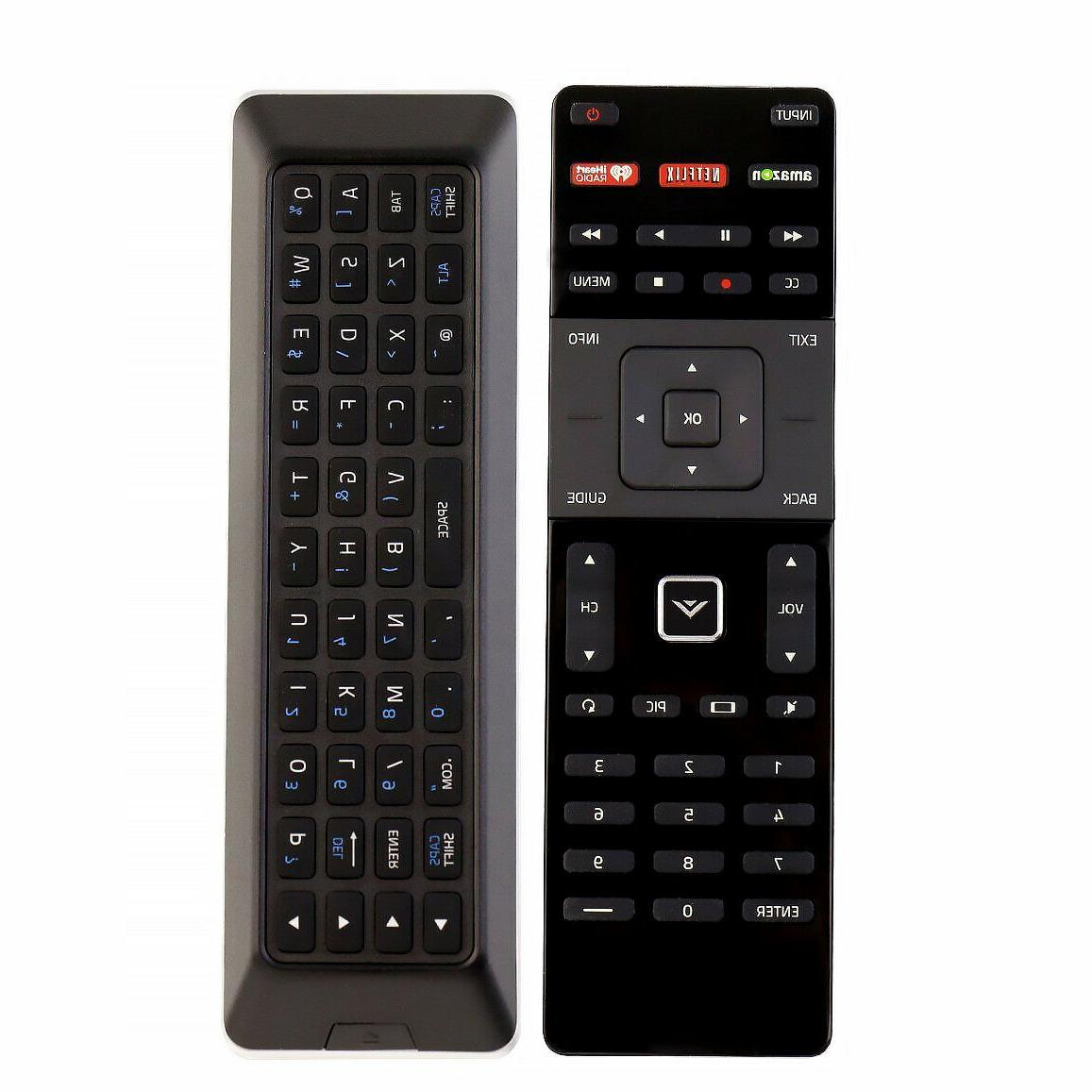 New Origina VIZIO Smart XRT500 LED remote Control with QWERT