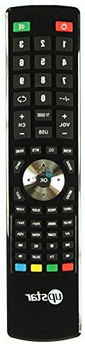 Upstar P40EA8 Remote Control