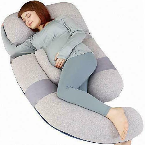 pine 60 inch pregnancy pillow detachable u