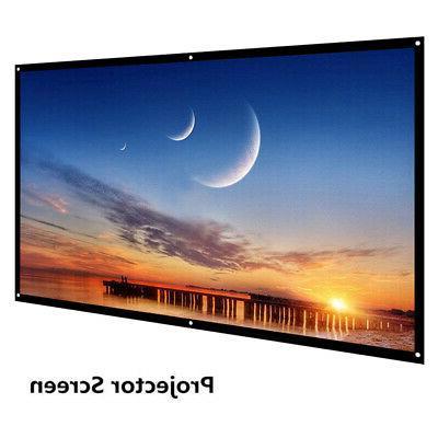 portable 60 inch 16 9 projector screen