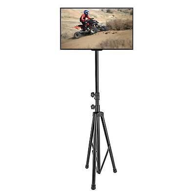 """New! Portable Tripod TV Stand Supports up to 60"""" Flat Screen"""