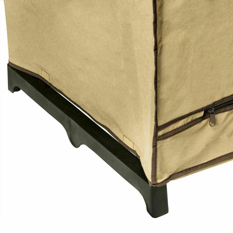 Portable Closet Organizer Clothes Rack Rust NEW