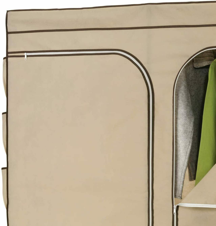 Portable Wardrobe Shoe Organizer Rust Resistant NEW
