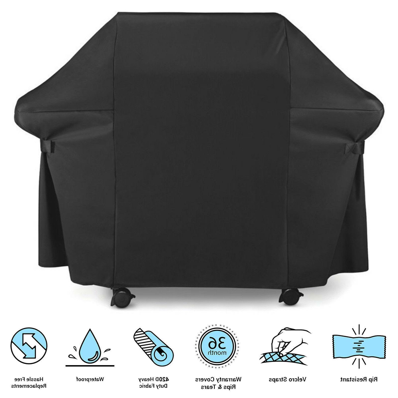premium 60 inch large black bbq grill