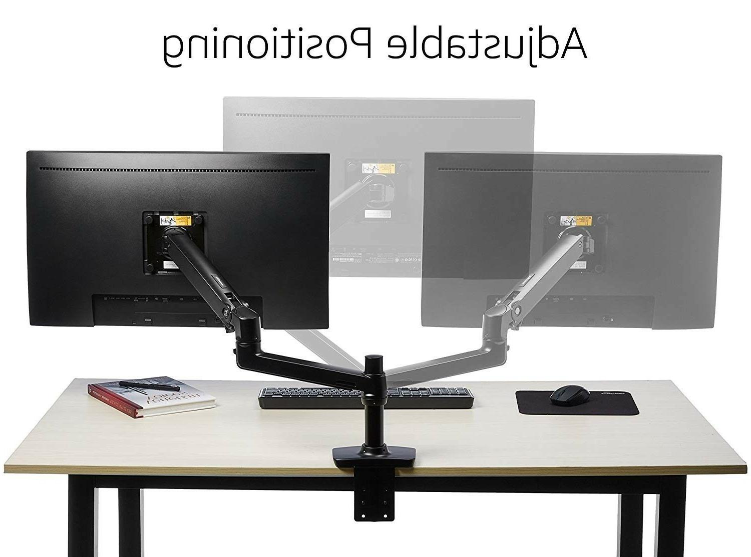 premium single monitor stand lift engine arm