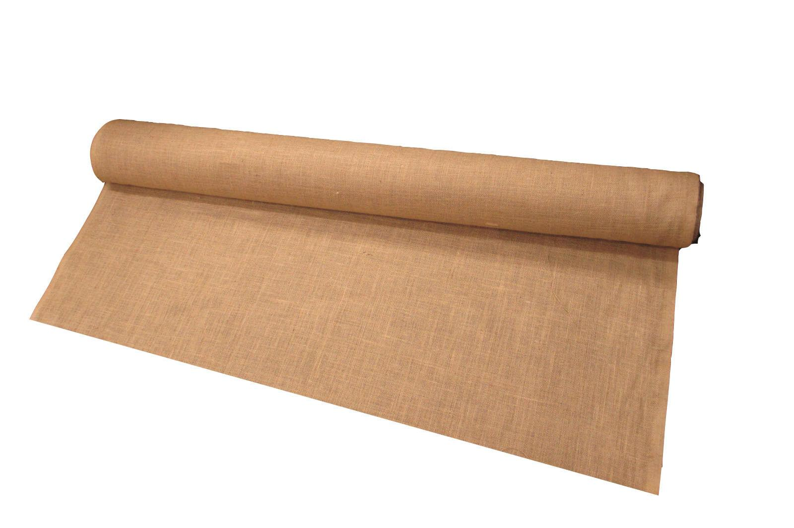 prepackaged natural burlap fabric 60 inch wide