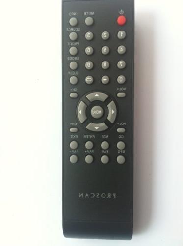 TV Remote Control Proscan Pled2694a Plc3708a Plcd3283a Plcd3717a :Plded3273a; Plcd5092a-b Plcd5092a-b Plcd3273a-b Plcd3271a-c Pled4011a