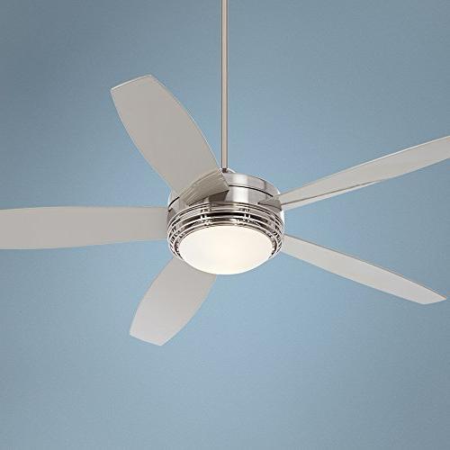"""60"""" Casa Nickel Ceiling Fan"""
