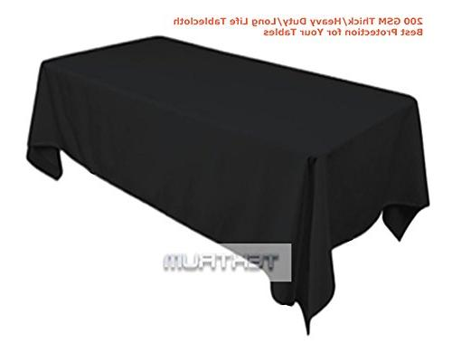 Tektrum 84 INCH TABLECLOTH THICK/HEAVY FABRIC
