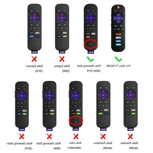 For / TCL Roku RC280 Silicone Cover