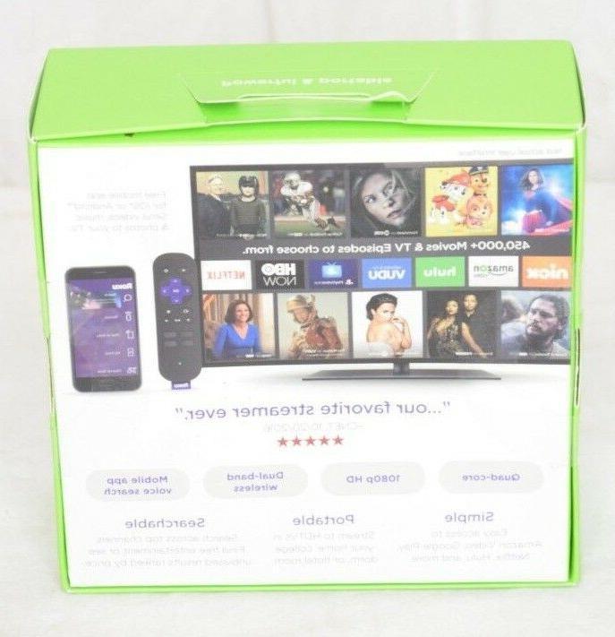 Roku Smart Streaming Stick 3600 1080p HD 3600R Brand New