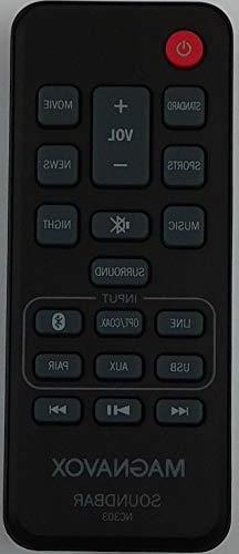 Original Factory New MAGNAVOX SOUNDBAR Remote NC303UH MSB462