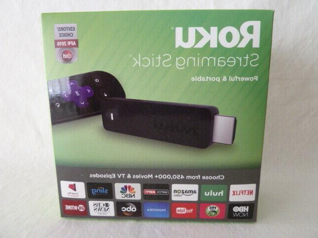 streaming stick 3600r hdmi black new sealed