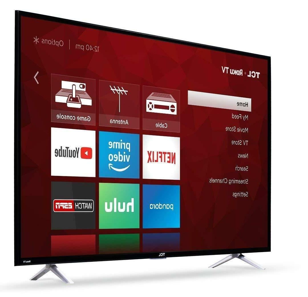 TCL 55-Inch Ultra HD LED TV