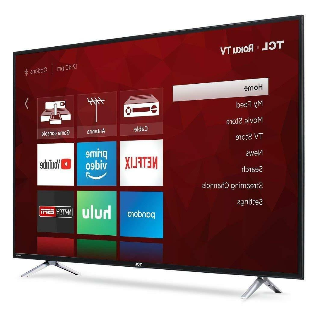 TCL 55-Inch 4K Ultra HD Smart LED TV
