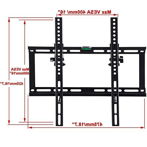 fam famgizmo TV Mount Bracket for Most Inches Flat Plasma LCD Max