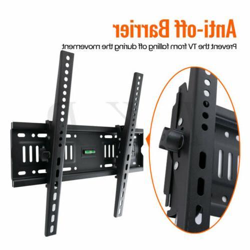 """Tilt TV Wall Mount Bracket For 26-60"""" or 43-75"""" LCD Plasma TVs"""