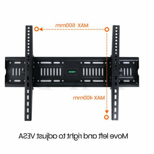 """Tilt TV Mount Bracket For or 43-75"""" LCD Plasma"""