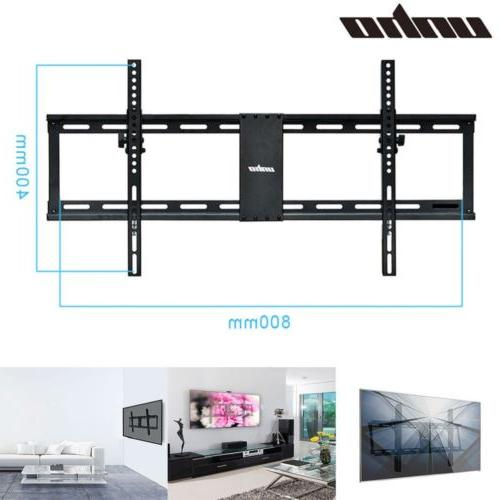 """Tilt TV Wall Mount Bracket up to 85"""" and 132 lbs fits 16"""" 24"""