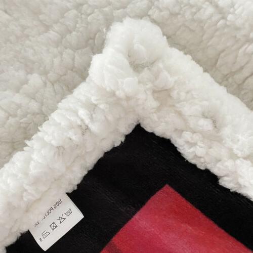 TO Pattern Fleece Blanket Gift Grandson