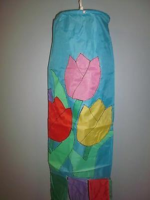 Tulips inch Wind Sock New