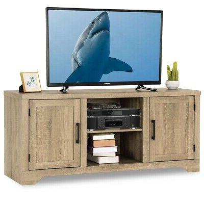 tural wood tv stand entertainment center