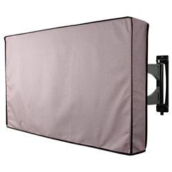 TV Cover Grey Weatherproof Outdoors Protector Fits TVs 22 -