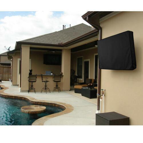 """TV Outdoor Black Weatherproof Dust-proof for 30""""-65"""" LCD"""
