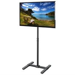 TV Display Floor Stand Height Adjustable Mount for Flat Pane