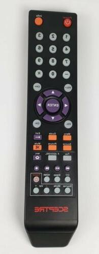 Sceptre TV Remote Control 142021270009C New Multi Function S