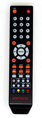 Sceptre TV Remote Control 8142026670003C for E165BV-SS