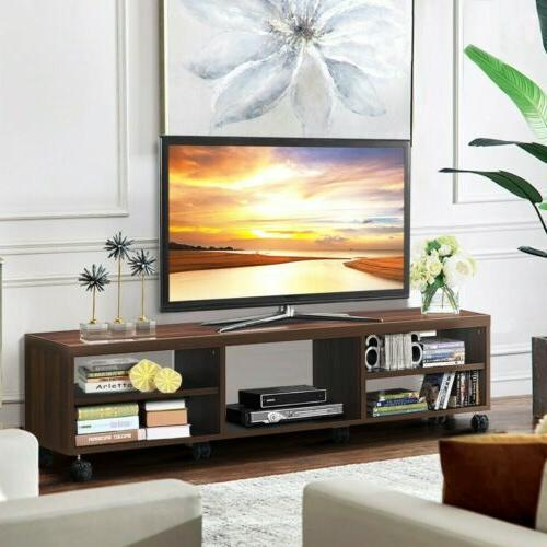 TV 60inch Flat Screen Media Console Center US