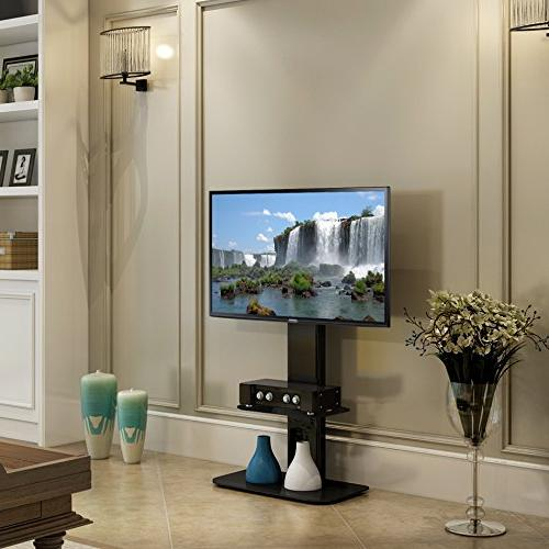 Fitueyes Stand Mount Swivel tv Stand 32 to 65 Samsung