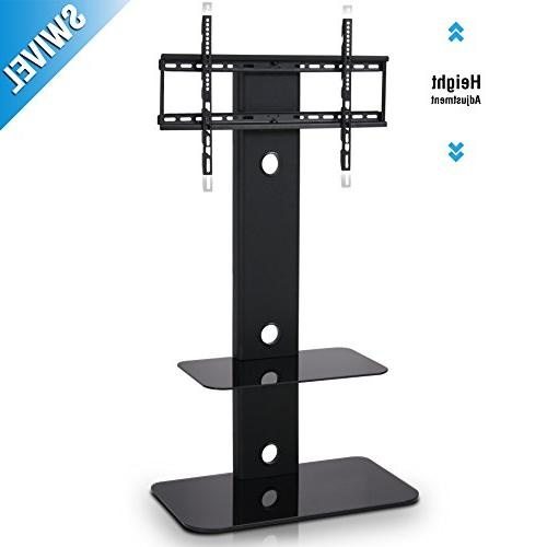 Fitueyes TV with Mount Swivel Floor Stand for 32 to Samsung
