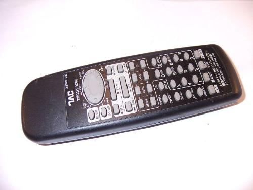 tv vcr replacement remote lp20034
