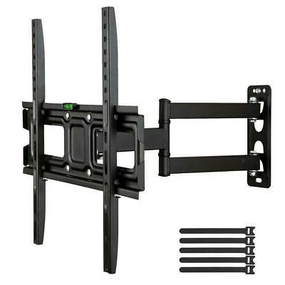 tv wall mount bracket 180 swivel tilt