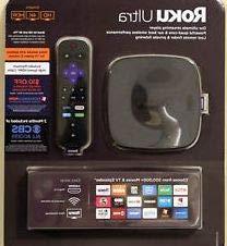 Roku Ultra Bundle 4K/HDR/HD streaming player with Enhanced r