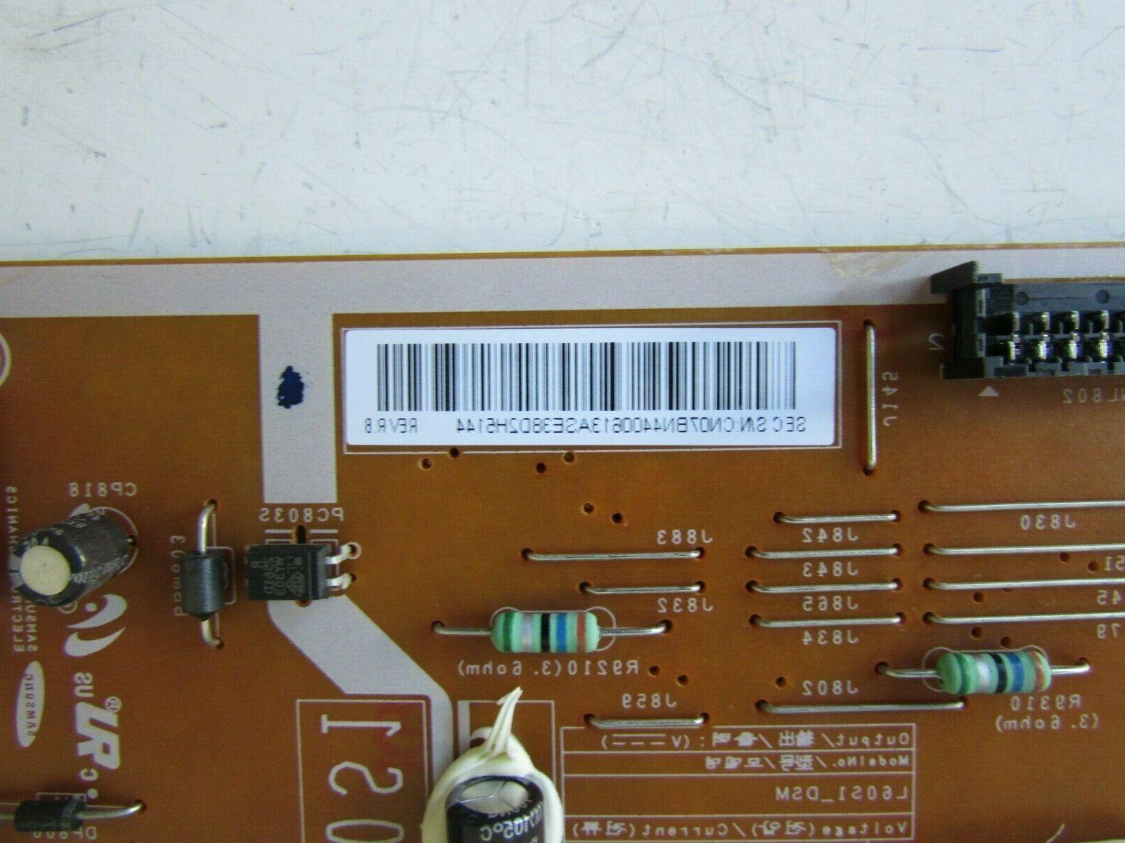 SAMSUNG UN60F6300AFXZC UN60F6300AFXZA POWER