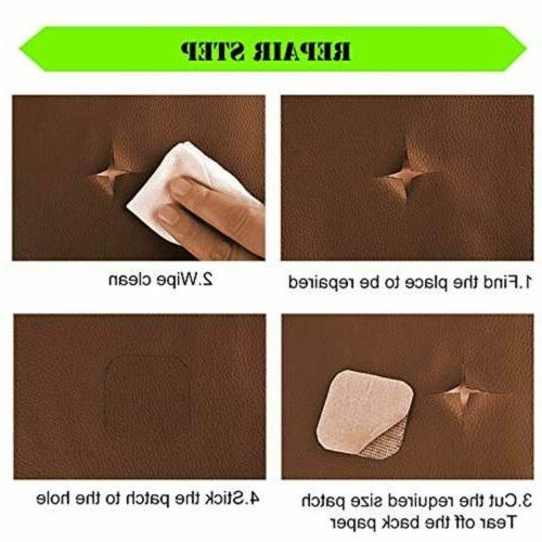 Universal Leather Inch Self-Adhesive for Bag
