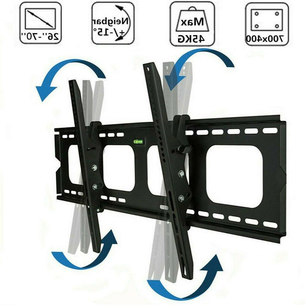universal led lcd tilt tv bracket wall
