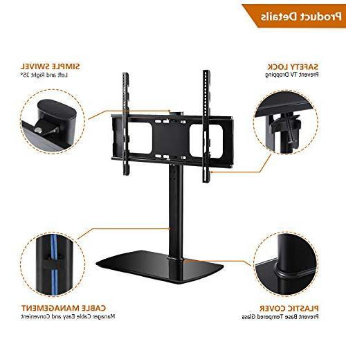 Rfiver Universal Tabletop TV Stand for 42 60 65 inch and Flat TVs with Height VESA 600x400mm,